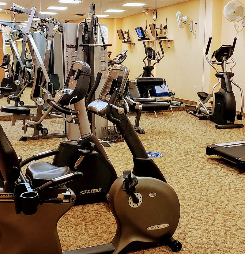 Mill Pond Acres fitness room